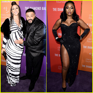 DJ Khaled Cradles Pregnant Wife Nicole Tuck's Baby Bump at Diamond Ball 2019!