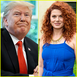 President Trump Once Again Attacks Debra Messing on Twitter