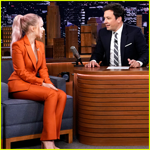 Dove Cameron Promotes Her New Music on 'The Tonight Show'