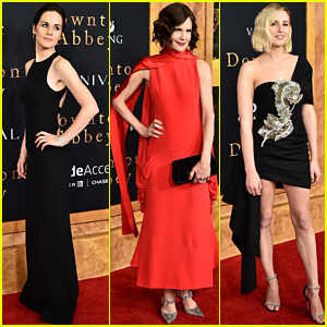 'Downton Abbey' Cast Gets Glam for New York Premiere