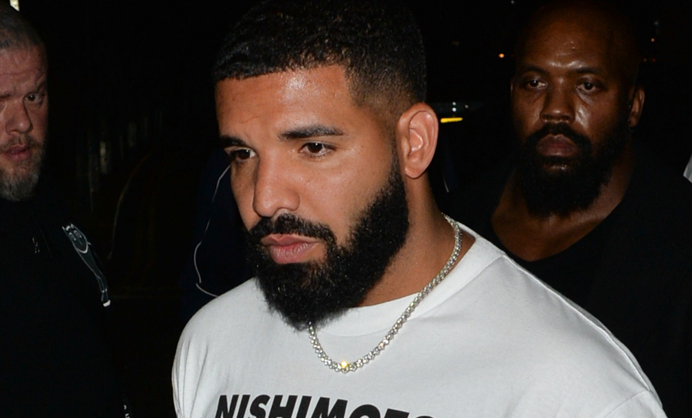Drake Heads to London's Playboy Club in a Harrods Hoodie