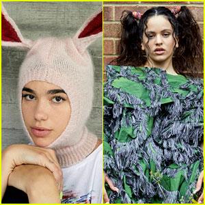 Dua Lipa & Rosalia Are Cover Stars for 'The Face'