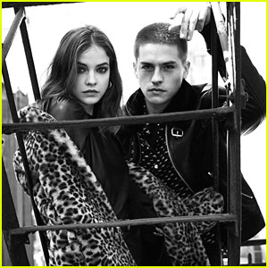 Dylan Sprouse & Barbara Palvin Couple Up in The Kooples Campaign!