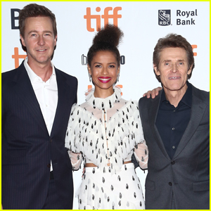 Edward Norton, Gugu Mbatha-Raw, & Willem Dafoe Premiere 'Motherless Brooklyn' at TIFF 2019