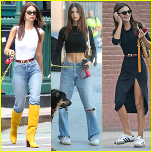 Emily Ratajkowski is Showing Off Cool Sense of Style!