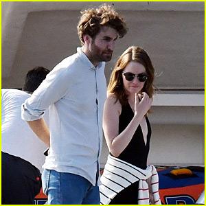 Emma Stone & Boyfriend Dave McCary Enjoy Vacation in Capri