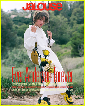 Milla Jovovich's Daughter, Ever Anderson, Makes Magazine Cover Debut With 'Jalouse'