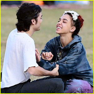 FKA twigs Flaunts PDA with New Boyfriend Reuben Esser During Playful Afternoon at a Park