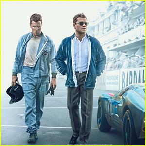 Matt Damon & Christian  Bale Star in 'Ford v Ferrari' - Watch the Trailer!
