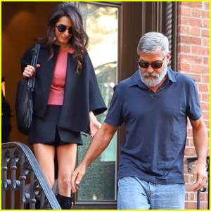 George & Amal Clooney Celebrate 5th Anniversary During Date Night in NYC