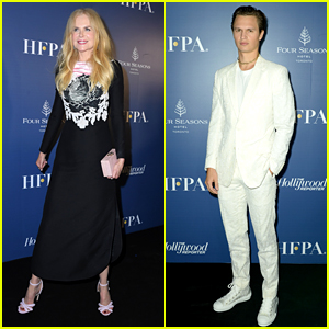 The Goldfinch's Nicole Kidman & Ansel Elgort Celebrate With Co-Stars at TIFF Party