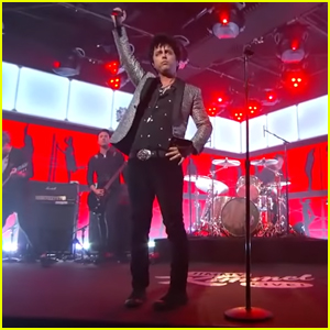 Green Day Performs 'Father of All...' for First Time on 'Jimmy Kimmel Live' - Watch Here!