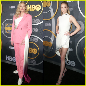 Gwendoline Christie & Sophie Turner Celebrate 'Game of Thrones' Emmy Wins with New Looks at HBO Aftery Party!