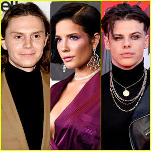 Halsey Goes to Six Flags with Evan Peters, Yungblud Seemingly Reacts