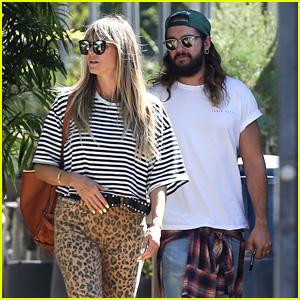 Heidi Klum & Tom Kaulitz Shop for Bonsai Trees in Los Angeles