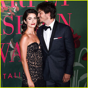 Ian Somerhalder & Nikki Reed Look So in Love at Fashion Event in Italy!