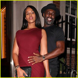 Idris Elba & Wife Sabrina Couple Up for Lucky Cat Launch