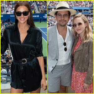 Irina Shayk & Rachel Brosnahan Check Out U.S. Open 2019 Men's Singles Final!