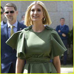 Ivanka Trump's Green Dress Goes Viral Due to a Gust of Wind