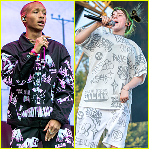 Jaden Smith Plays Music Midtown in Atlanta With Billie Eilish