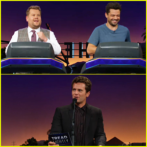 James Corden & Dominic Cooper Test Their Friendship with Hilarious Treadmill Quiz - Watch!