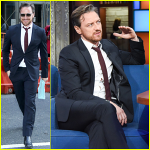 James McAvoy Shares Fun Facts About Co-Stars Jennifer Lawrence & More on 'Late Show' - Watch!