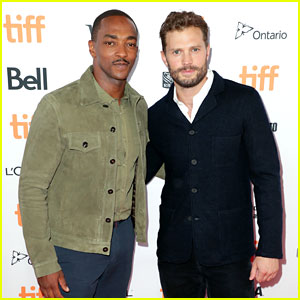 Jamie Dornan & Anthony Mackie Look So Hot Together on 'Synchronic' TIFF Red Carpet!