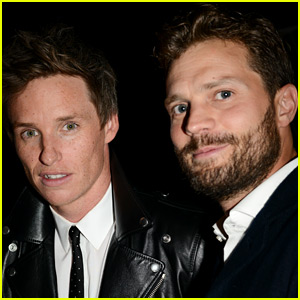Former Roommates Jamie Dornan & Eddie Redmayne Meet Up in Toronto!
