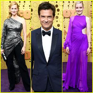 'Ozark' Stars Jason Bateman, Laura Linney, & Julia Garner Arrive at Emmy Awards 2019!