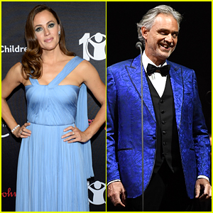 Jennifer Garner & Andrea Bocelli Are Releasing a Duet!