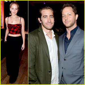 Jennifer Lawrence & Jake Gyllenhaal Support YouTube's Fashion Launch!