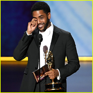 Jharrel Jerome Wins First Emmy for Best Actor in 'When They See Us' (Video)