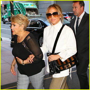 Jennifer Lopez & Her Mom Head Out Together in New York City