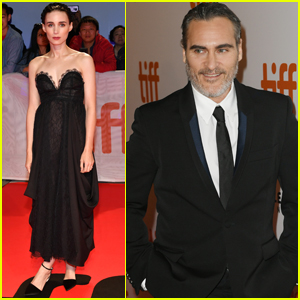 Joaquin Phoenix Gets Support From Rooney Mara at 'Joker' Premiere During TIFF 2019