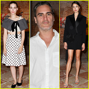 Joaquin Phoenix & Rooney Mara Couple Up at Miu Miu Women's Tales Dinner!