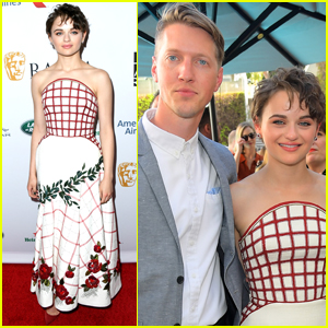 Joey King & Boyfriend Steven Piet Make a Picture Perfect Couple at BAFTA Tea Party