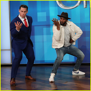 John Cena Takes On the 'John Cena Dance Challenge' on 'Ellen' - Watch Here!