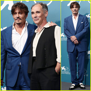 Johnny Depp Steps Out for 'Waiting for the Barbarians' Venice Film Festival Photo Call!