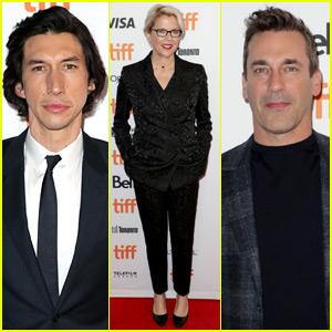 Adam Driver, Annette Bening, & Jon Hamm Premiere 'The Report' in Toronto