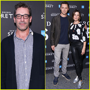 Jon Hamm, Neve Campbell & More Support Derren Brown's 'Secret' On Broadway Opening!