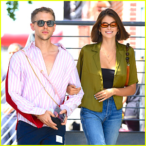 Kaia Gerber Celebrates 18th Birthday in NYC with Tommy Dorfman