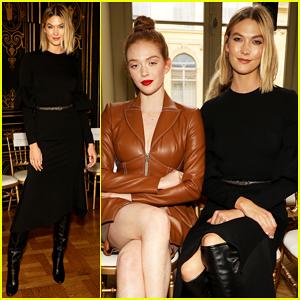 Karlie Kloss Supports Christian Siriano at Paris Fashion Show!