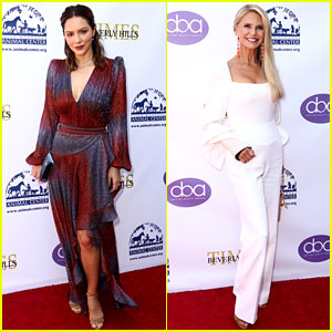 Katharine McPhee & Christie Brinkley Step Out for Daytime Beauty Awards