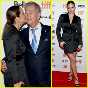 Katharine McPhee Suports Husband David Foster at His Documentary Premiere During TIFF 2019