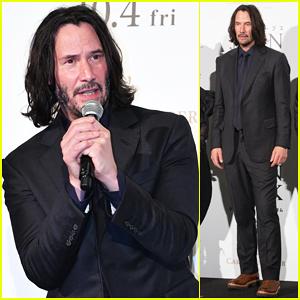 Keanu Reeves Brings 'John Wick 3' To Japan!