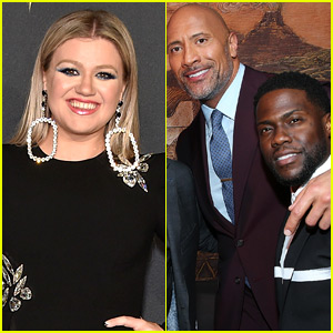 Injured Kevin Hart Was Supposed to Be Kelly Clarkson Show's First Guest, So The Rock Stepped In Last Minute