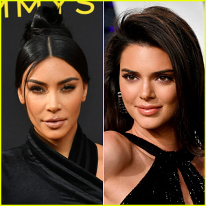 Kim Kardashian Reacts to Kendall Jenner Publicly Saying She Doesn't Care For Psalm West's Name