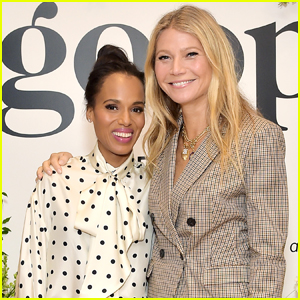 Kerry Washington Joins Gwyneth Paltrow on Goop Podcast!