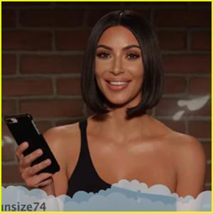 Kim Kardashian, Will Ferrell, Jon Hamm & More Celebs React to Mean Tweets on 'Kimmel' - Watch!