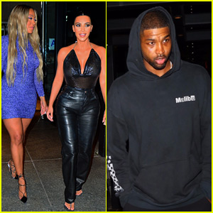 Kim Kardashian Dines at Same Restaurant as Khloe's Ex Tristan Thompson